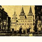 Иверские ворота - картина из сусального золота