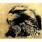 Картина  на сусальном золоте с изображением Орла