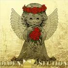 Цветочный ангел - миниатюра из сусального золота