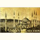 Картина на золоте: мечеть Султанахмет в Стамбуле