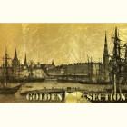 Картина на золоте с видом Риги и Рижского залива