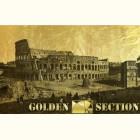 Картина из золота Римский Колизей