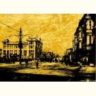 Картина с изображением Старая Москва ,городские сцены