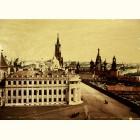 Золотая картина Соборная площадь в Кремле