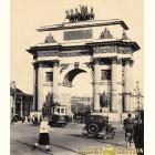 Триумфальная арка - картина из сусального золота