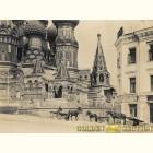 Собор Василия Блаженного - картина из сусального золота