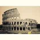 Рим. Колизей ретро