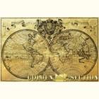 Картина из золота Карта странствий
