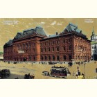 Городская Дума- картина из сусального золота