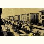 Ленинский проспект- картина из сусального золота