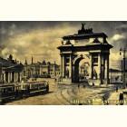 Триумфальная арка в Москве - золотая гравюра